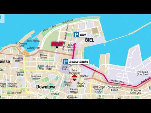 Saradar Bank Women's Race 2018 | Directions Map