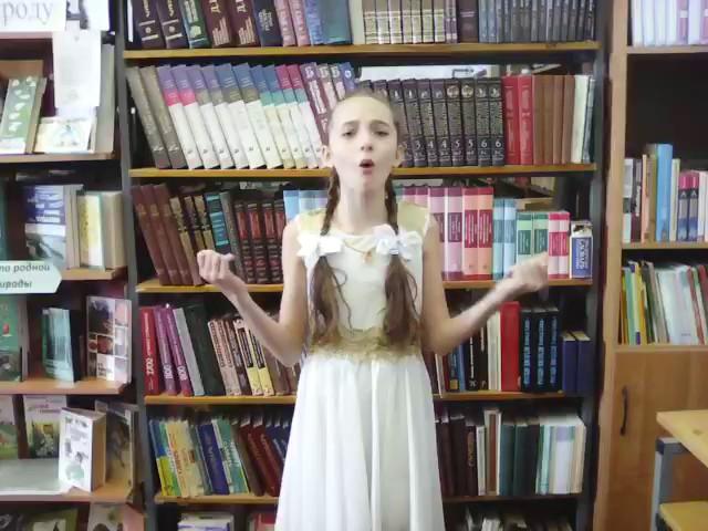 Изображение предпросмотра прочтения – АйдиляЗейнетдинова читает произведение «Послушайте! (Послушайте! Ведь, если звезды зажигают…)» В.В.Маяковского