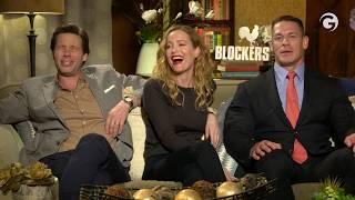 Blockers Interview: John Cena, Leslie Mann & Ike Barinholtz Talk BO, Sex & WWE