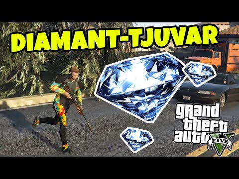 VI STJÄL DIAMANTER *Freeroam* - GTA 5 Online med SoftisFFS
