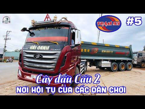 #5 Team 93 - Xe tải đẹp Việt Nam - Cây xăng dầu Cầu Hai Nơi hội tụ của các IDOL Xe tải