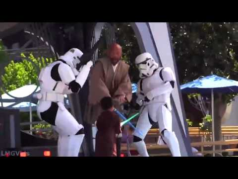 Star Wars - Kid Beats up Darth Vader. The Force is strong with this one