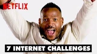 Marlon Wayans Does 7 Internet Challenges | Sextuplets | Netflix