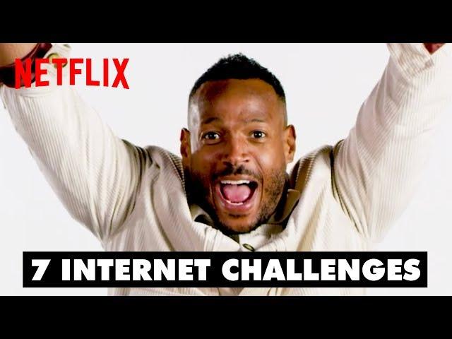 Marlon Wayans Does 7 Internet Challenges   Sextuplets   Netflix