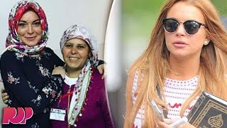 Repeat youtube video Did Lindsay Lohan Convert To Islam?