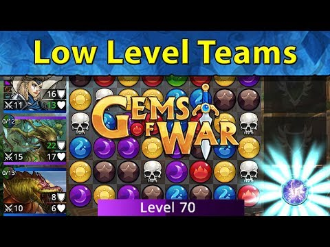 Gems of War: Efficient Low Level, Low Cost, New Player Teams