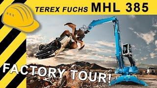 125 Jahre Terex Fuchs - MHL 385 Premiere im Werk Bad Schönborn