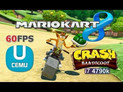 Cemu Mario Kart 8 Ft Crash Bandicoot Wii U Mk8 Mods