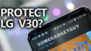 The BEST Screen Protector for the LG V30? Really?