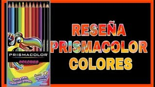 lapices de colores - PRISMACOLOR - REVIEW
