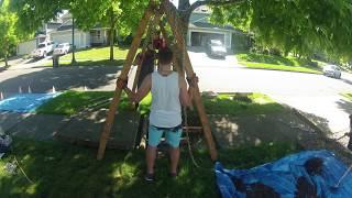 Removing Sidewalk-Lifting Tree Roots