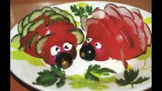 поделки из помидоров / поделки своими руками