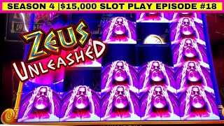ZEUS Unleashed Slot Machine Max Bet Live Play | Season 4 | Episode #18