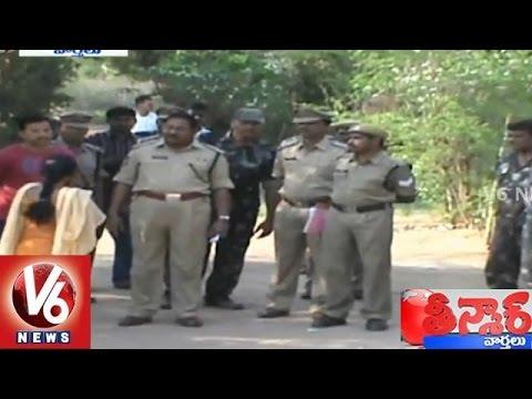Theft in TSSP 4th Battalion quarters Warangal - Teenmaar News (25-03-2015)