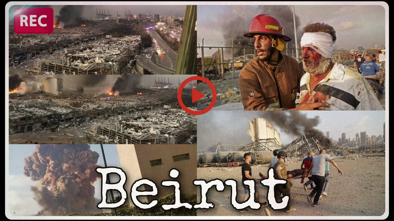 'No Words': After Enormous Explosion Rips Beirut, A Search For ...