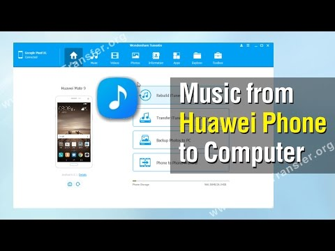 How to Export Music from Huawei Phone to Computer