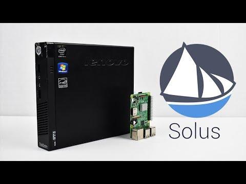 Solus OS On Lenovo Mini i5 4570T Dolphin And PSP Emulation