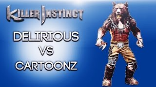 Killer Instinct Ep. 4 (Delirious Vs Cartoonz!) Xbox One