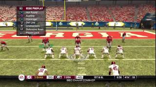 NCAA Football 10 Alabama vs Georgia