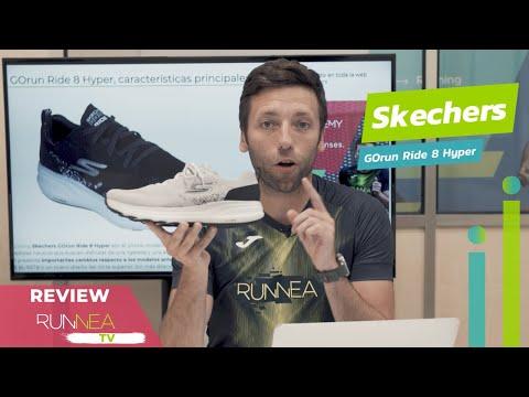 Skechers GOrun Ride 8: equilibrio perfecto entre amortiguación y ligereza