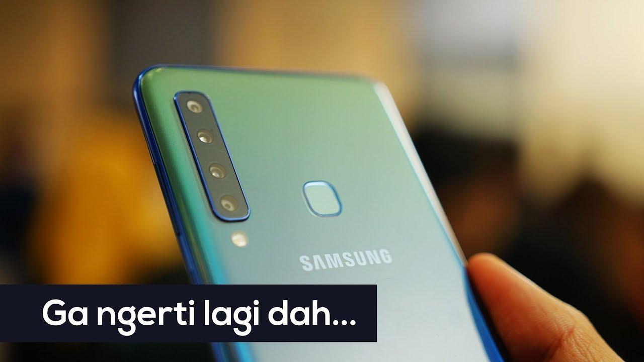 Hp Samsung Yang Punya 4 Kamera Buat Apa Youtube