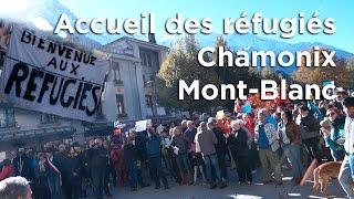 Accueil des réfugiés Chamonix Mont-Blanc 22 octobre 2016 Eric Fournier - 11370