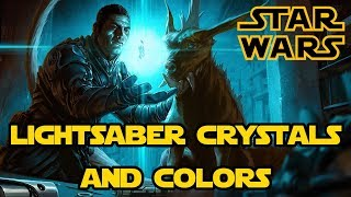 Kyber Crystals and Lightsaber Color Meanings - Star Wars Lore