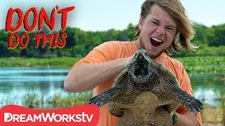 Snapped By A Snapping Turtle | DON'T DO THIS