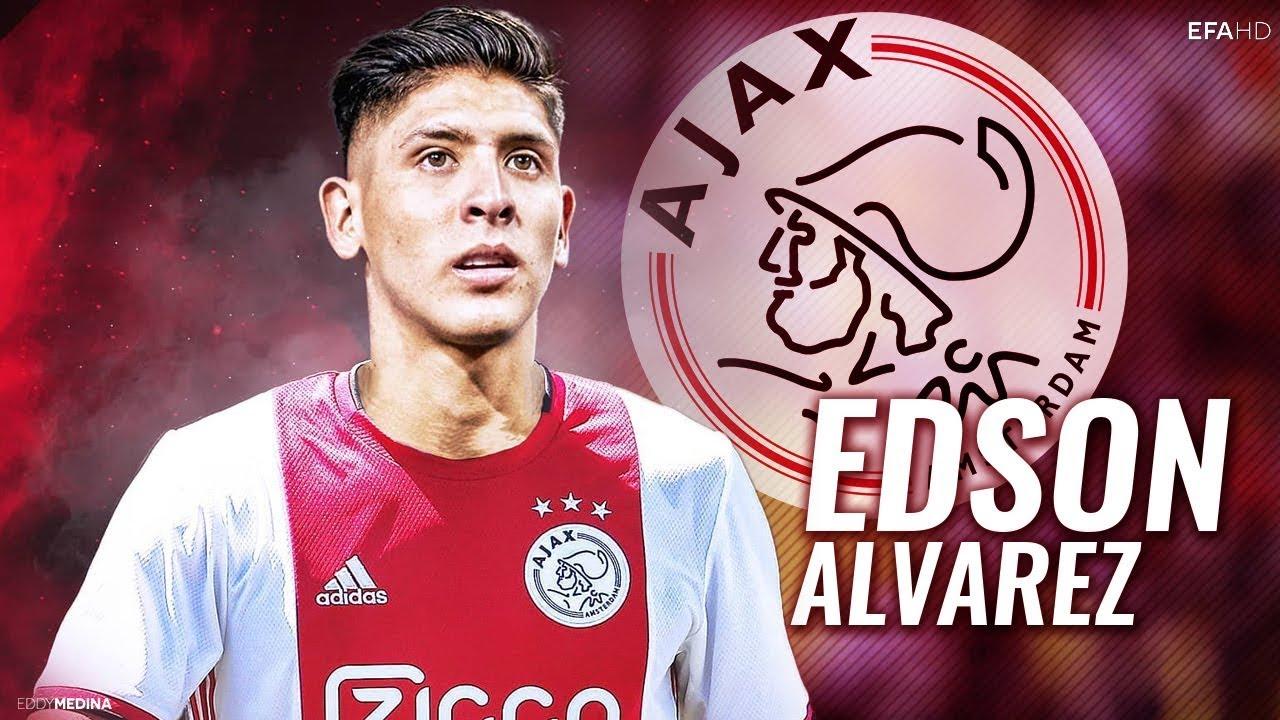 Edson Álvarez, Holanda, Ajax, suplente