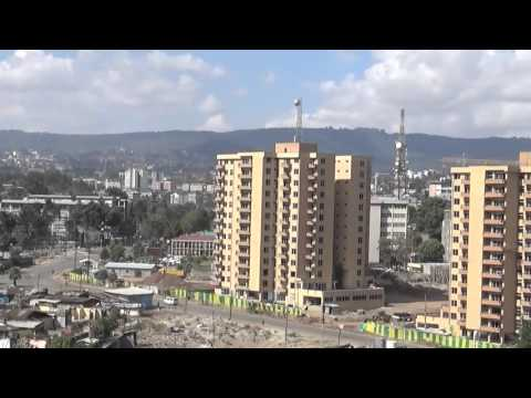 Wabe Shebelle Hotel 10th Floor view of Addis Ababe Ethiopia