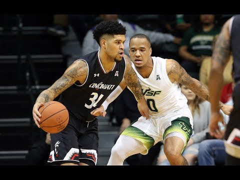 Men's Basketball Highlights - Cincinnati 78, USF 55