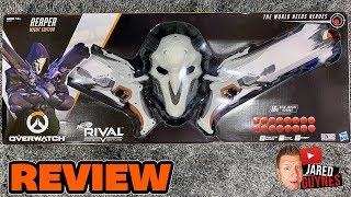 [REVIEW] Nerf Rival Overwatch | Reaper Wight Edition 2019 | [4K] Video
