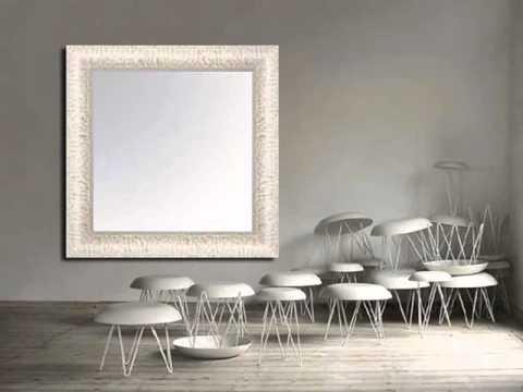 miroirs en bois sur mesure idées pour la décoration avec des miroirs ...