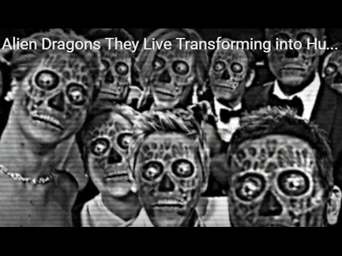 Alien Dragons They Live Transforming into Human Celebrities