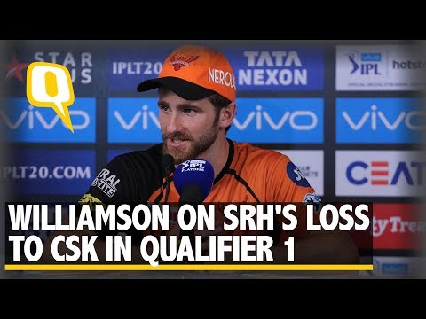 IPL 2018: Kane Williamson on SRH's Loss to CSK In Qualifier 1 | The Quint