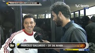 """Los tiros libres del """"Muñeco"""" Gallardo - Líbero 04/05/2017"""