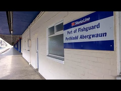 Fishguard Harbour Train Station