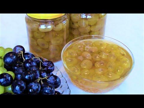 Как варить варенье из винограда с косточками
