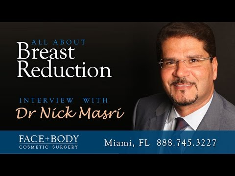 Miami Breast Reduction Dr Nick Masri Interview