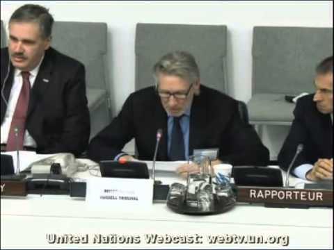 Roger Waters UN Address - Nov 29, 2012
