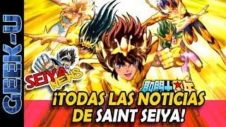 [SeiyaNews #25] ¡Todas las noticias de Saint Seiya!