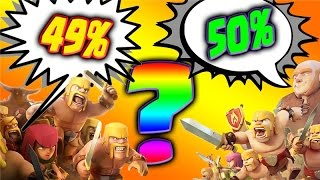 """Clash of Clans  """"49 or 50, Can You Predict the Outcome?"""" Town Hall 7 Attack Strategy"""