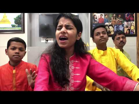 मोपे डार गायो सारी रंग की गगर (होली गीत) Maithili Thakur, Rishav Thakur, Ayachi Thakur
