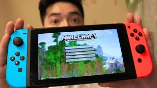 PLAYING MINECRAFT SWITCH EDITION EARLY!!!
