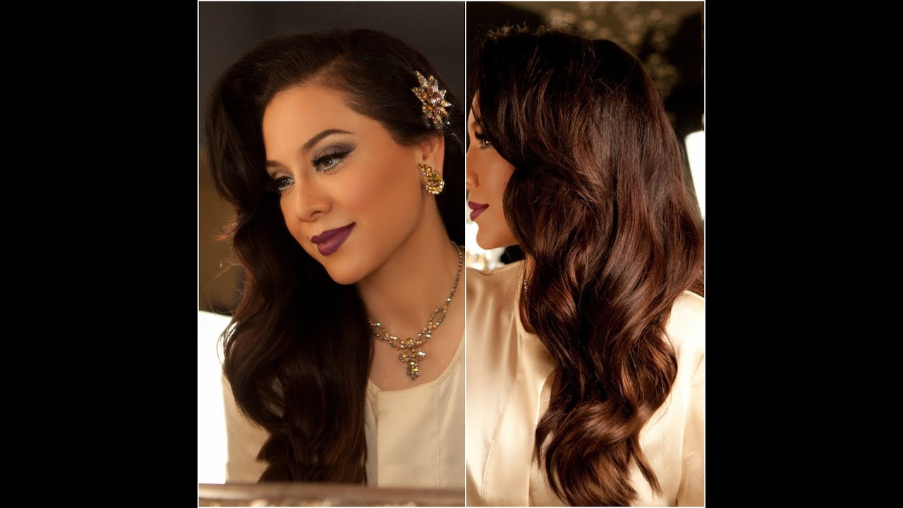 1940 S Inspired Hair Tutorial Old Hollywood Glamour Vegas Nay