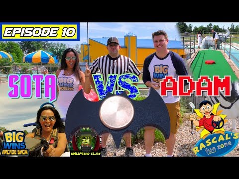 "Episode 10: ""Who Will Win The Batman Fidget Spinner (Maybe You)?"" Go Karts! - Big Wins! Arcade Show"