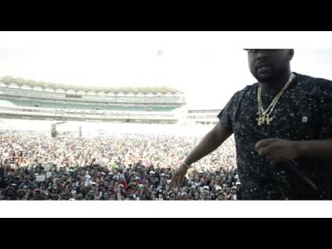 Cassper Nyovest performing My Own at Wanderers Sta