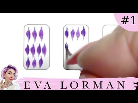 Китайская роспись ногтей для начинающих - YouTube