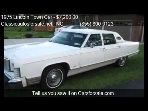 1975 Lincoln Town Car for sale in Nationwide, NC 27603 at C ...