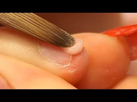 How to Apply Acrylic Nails on Short Bitten Nails Tutorial Vi